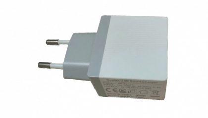 EU-Plug USB Charger Dual