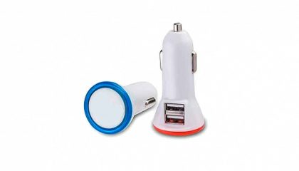 Universal USB Car Charger Dual