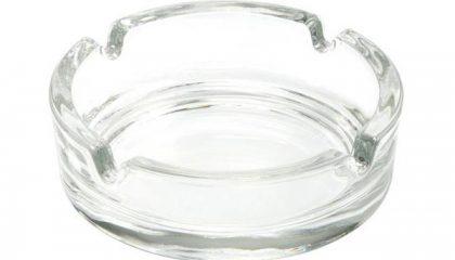 Aschenbecher Glas 105 mm